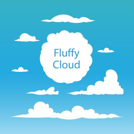 Clouds Vector Ilustracja