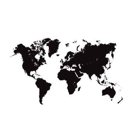 the americas: World Map