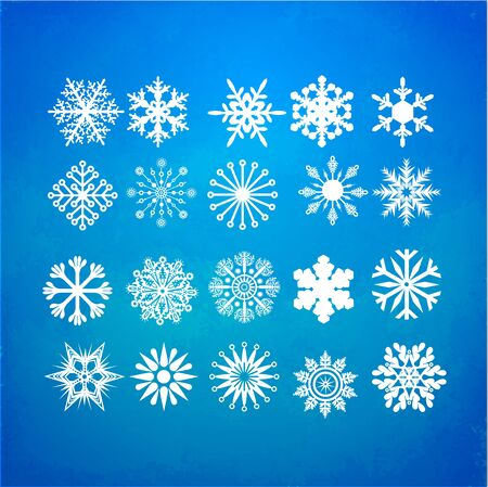 Snowflakes Vector Illustration