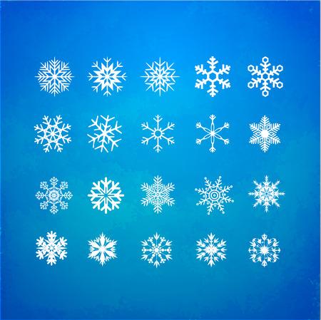 Snowflakes Vector Ilustração