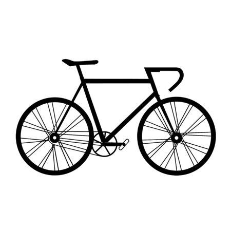 自転車のベクトル図  イラスト・ベクター素材