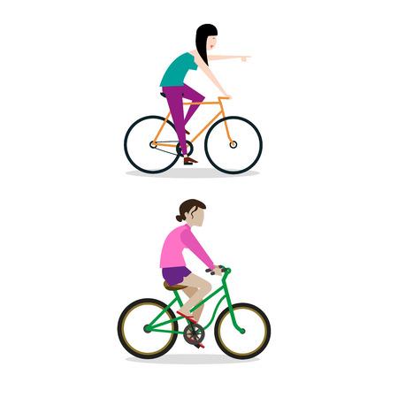 bicicleta vector: Bike vector illustration