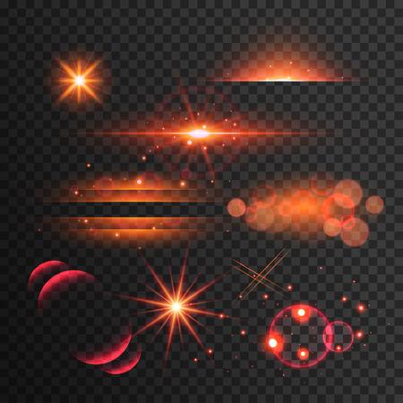Light effect, flare, lighting