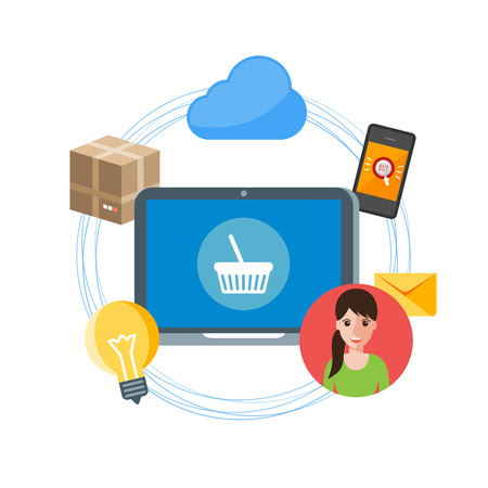 wireless communication: online shopping