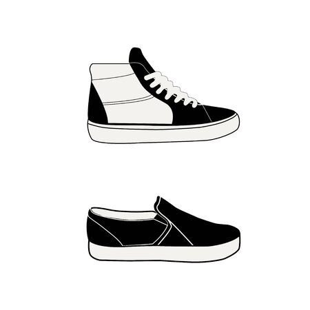 Sneakers Vetor