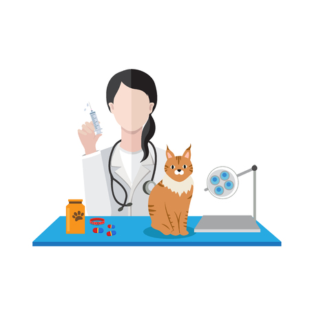 veterinarian doctor Vector