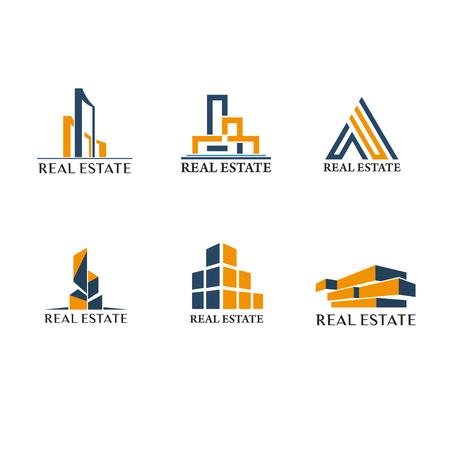 Onroerend goed logo pack