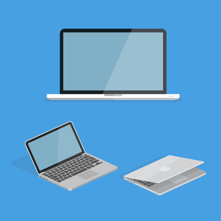 Laptop or Computer Desktop Reklamní fotografie - 100360045