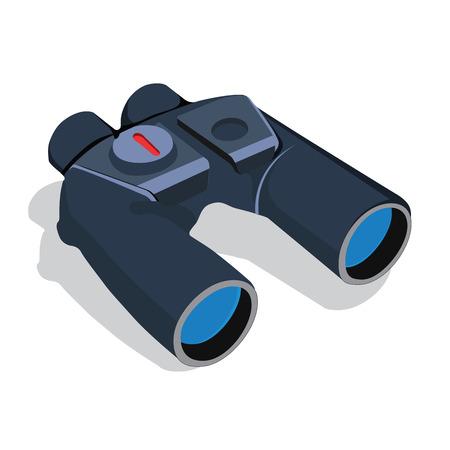 binoculars vector Stock Illustratie