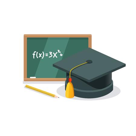 Graduation Vector Concept