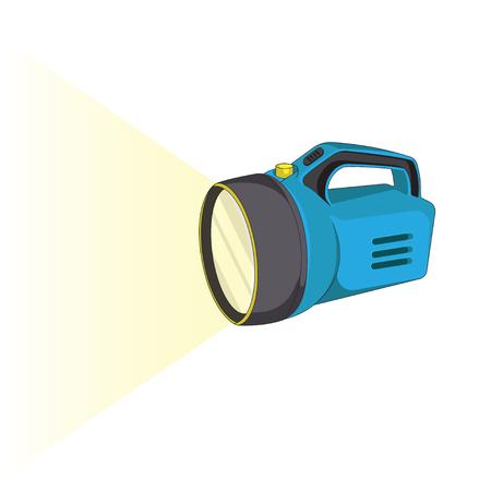 Taschenlampen-Vektor-Symbol