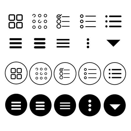 Navigation Menu Icon