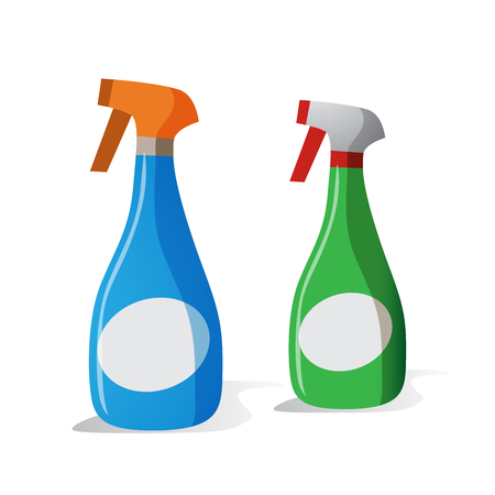 Spray Bottle Vector Icon Stock Illustratie