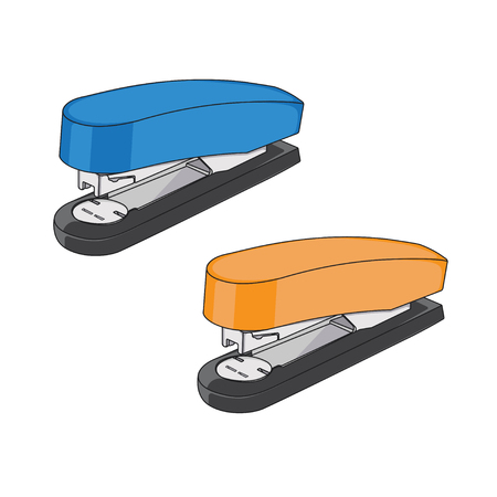 Office Stapler Vector