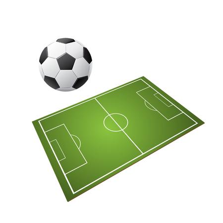 Soccer football vector design