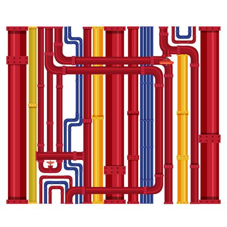 Pipeline design background pattern