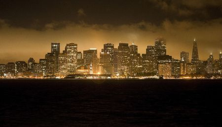 View of San Francisco at Night photo