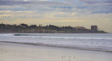 La Jolla Shores and Cove in San Diego, California photo