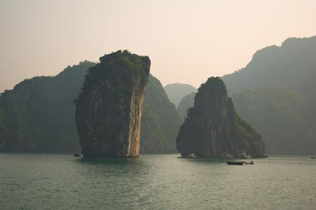 Islands in Ha Long Bay, Vietnam