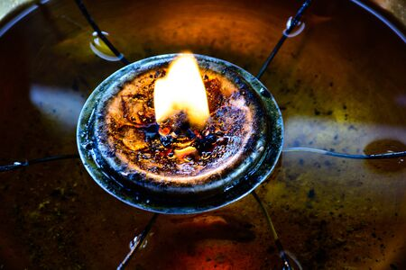 venerate: Hopeful Light Before Buddha Means Give People Wisdom to Remove all the Unknown and Darkness.
