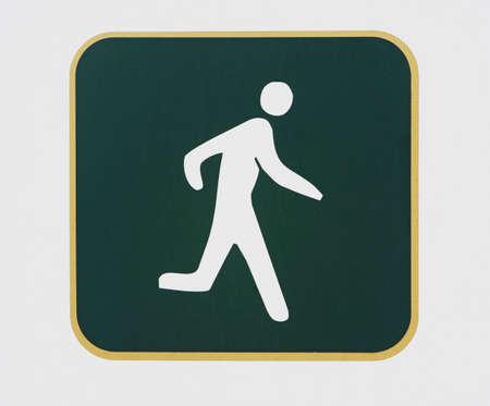 jogging sign