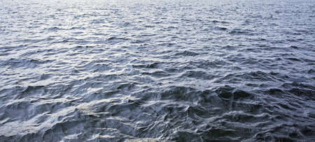 rippling water in the afternoon Stock Photo