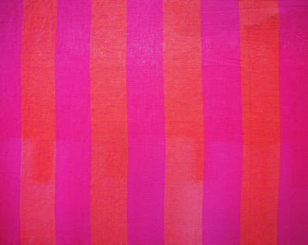 piece of bright fabric hanging on line Stock Photo