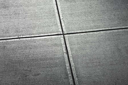 Erstellen von Linien in Gehweg von oben Standard-Bild