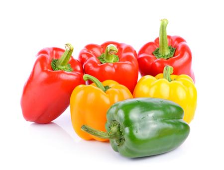 pimientos: Bell Peppers  Foto de archivo