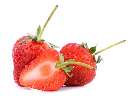 strawberrys: Strawberrys  on white background