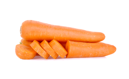 Carrot isolated on white background Фото со стока