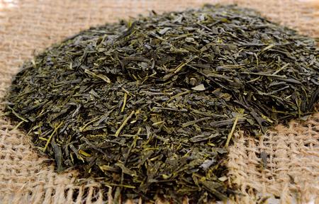dry tea isolared on white background
