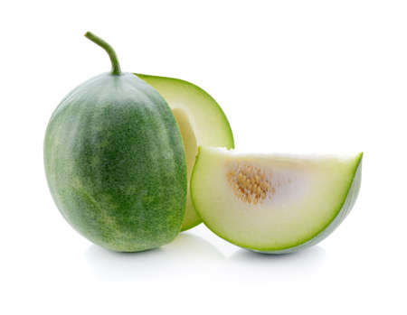 winter melon isolated on white background