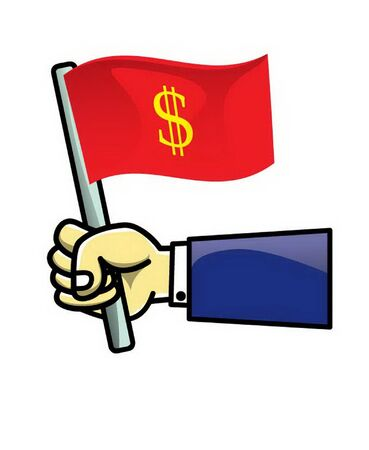 dollar icon: Flag of Dollar icon