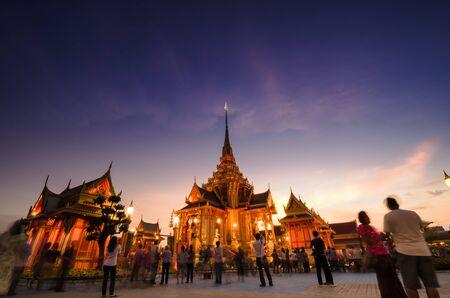 Phra Meru, Thai Royal Crematorium, Bangkok, Thailand.
