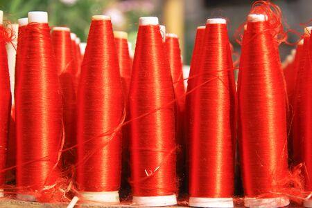 bobbin: red bobbin thread