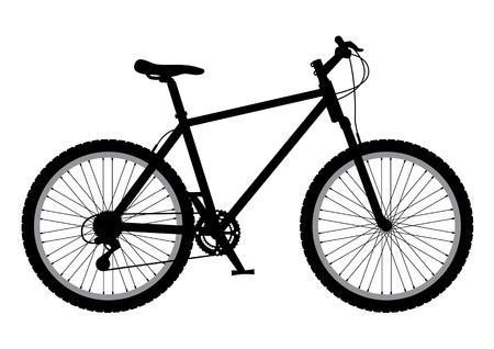 산악 자전거 그림