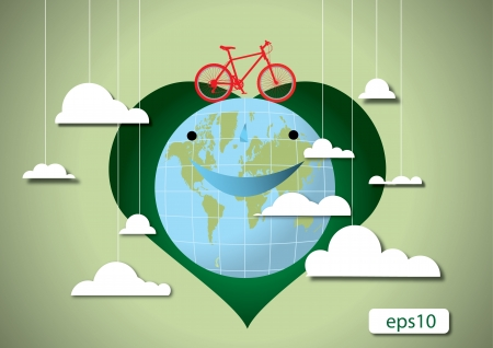 Love earth ecology concepts Stock Vector - 17240766