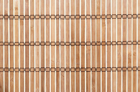 Bamboo mat background photo