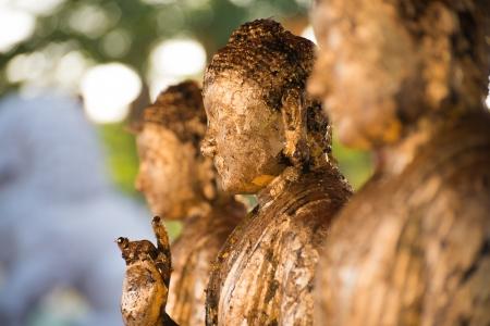 budda: Statues of Ancient gods buddha  Stock Photo