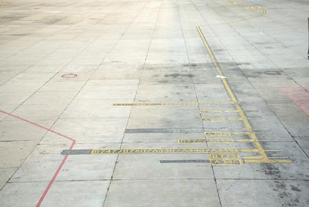 airport runway Archivio Fotografico