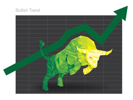Bullish symbols on stock market