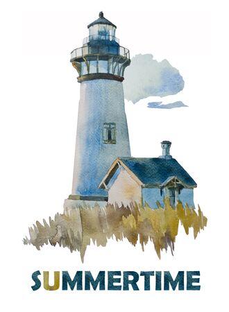 Summer lighthouse Stock Photo - 12301802
