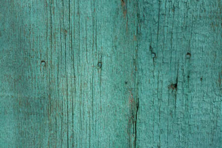 painted wood: green wooden planks