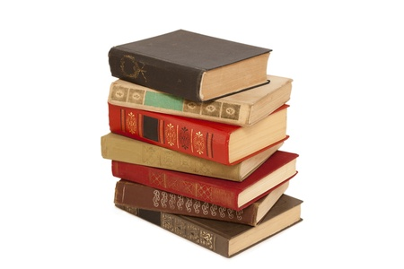 old books in a stack Stock Photo - 14461023