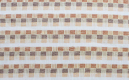 earth tone: Earth tone, pattern cotton fabric Stock Photo