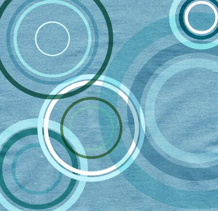 paper texture with colorful circles Stock Photo