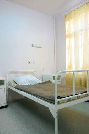 recovery bed: parte di un ospedale con una camera da letto