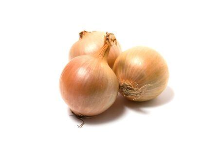 onion isolated: Cebolla aisladas en blanco de cerca Foto de archivo