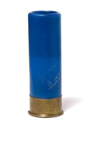 gun shell: cartucho de caza aisladas en blanco